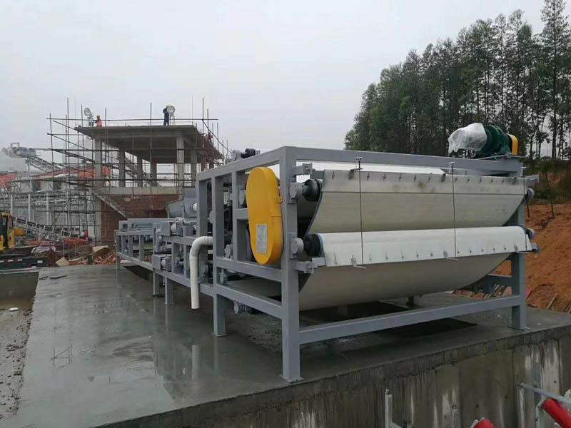污水处理-带式压滤机